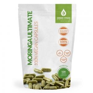 120 Vegan Moringa Ultimate Capsules | Green Virgin Products