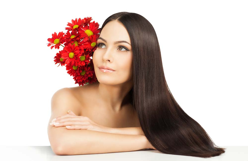 Moringa oil for healthy hair